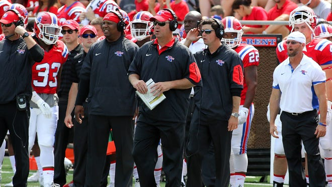 Louisiana Tech coach Skip Holtz said Wednesday that his team is dialed in for Saturday's game against UL Lafayette.