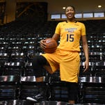 Southern Miss' Caitlin Jenkins is averaging 12.5 points per game this season.