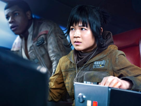 This image released by Lucasfilm shows Kelly Marie