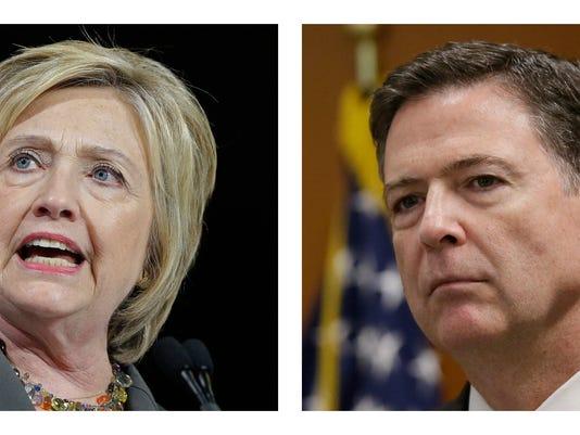 Hillary Clinton, James Comey