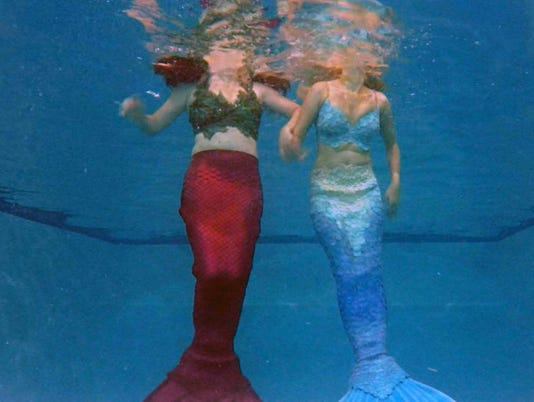 Mermaids making a fitness splash in North Texas