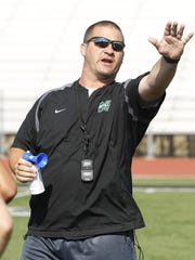 Mason Football Coach Brian Castner has denied allegations he told a former student to drop sex offense allegations against three football players in 2013. School officials said an investigation could not substantiate the student's claims.
