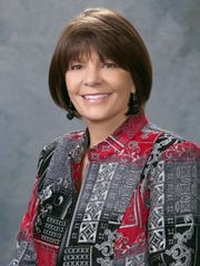 Republican Yvette Herrell of Alamogordo serves in the New Mexico State Legislature.