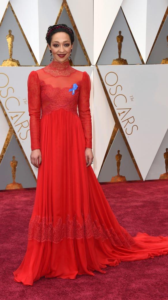Ruth Negga Dress on Oscar