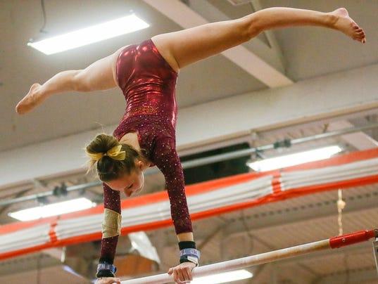 Skyland Conference gymnastics championships