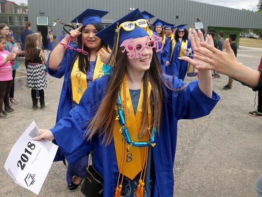 Bremerton High School graduating senior Kaley-Lynn