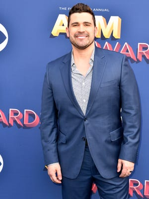 Josh Gracin on the red carpet during the 53rd Academy of Country Music Awards at the MGM Grand Garden Arena Sunday, April 15, 2018, in Las Vegas.