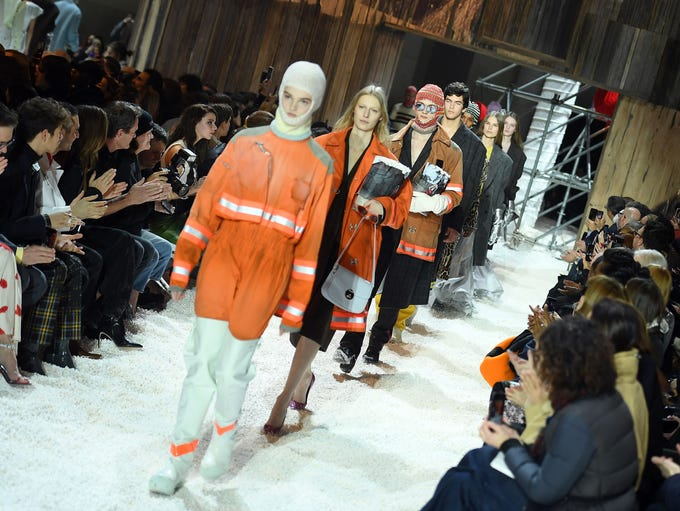 The Calvin Klein show stormed the New York Stock Exchange