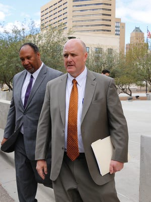 Former El Paso Independent School District Associate Superintendent Damon Murphy testified as part of a plea agreement with federal prosecutors.