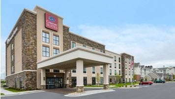 Construction should begin this fall on a 100-room full-service Comfort Suites hotel on the property at the corner of Dominican Drive and Third Avenue North.