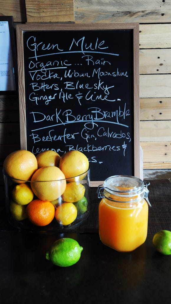 Juiced up: Brunching at the Junction.