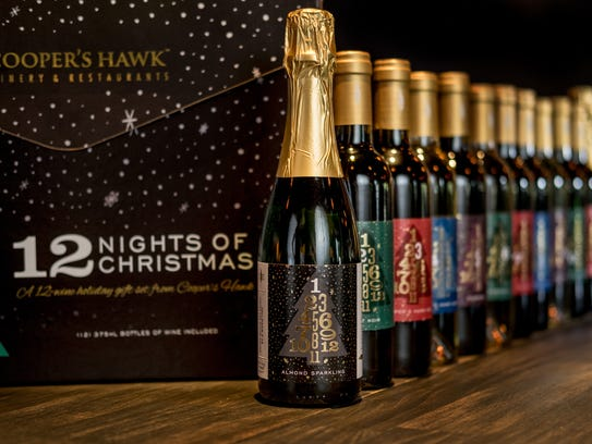 There Is A Wine Advent Calendar From Cooper S Hawk Winery