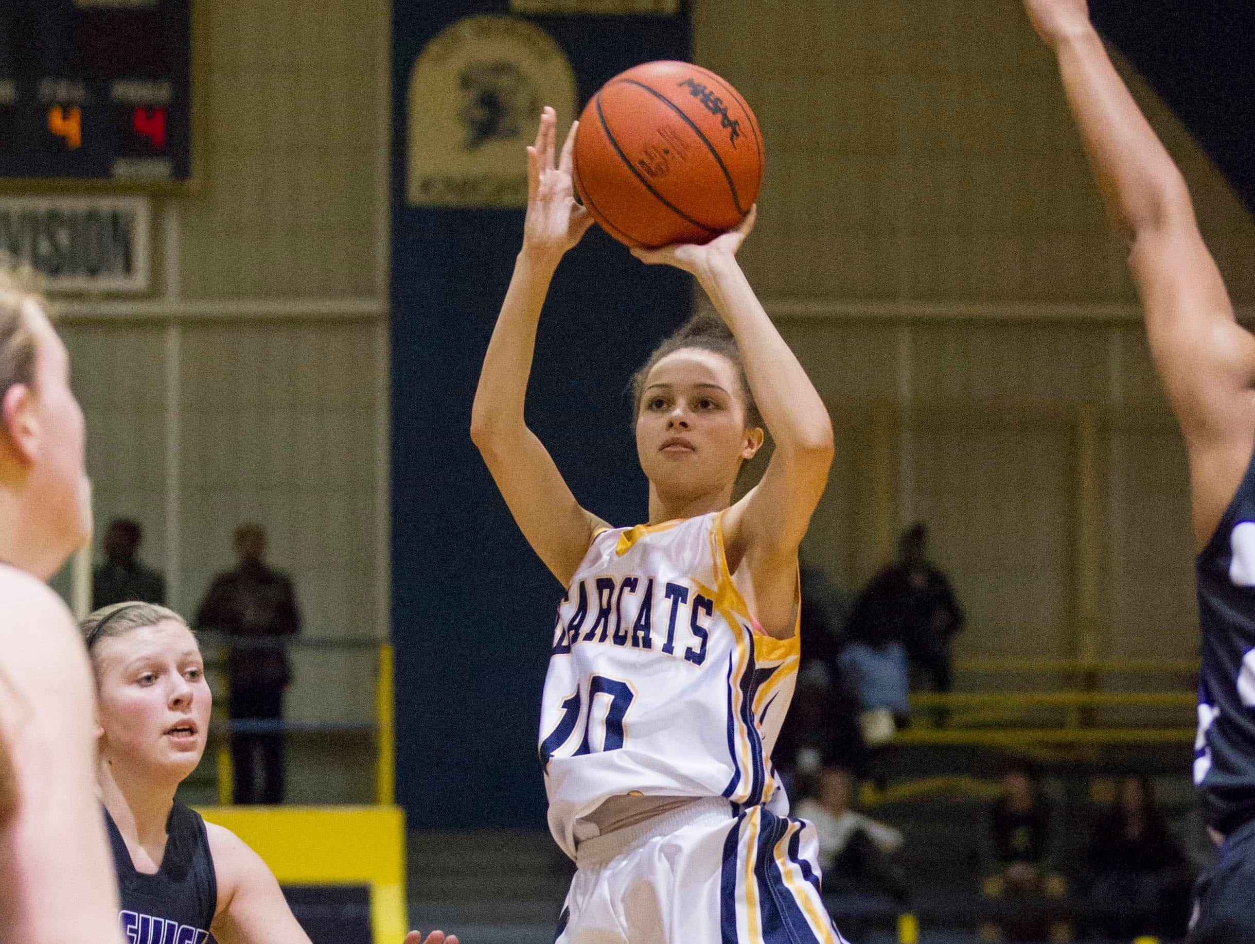 Former BCC standout Ka-Leah Ryan is currently a standout for KVCC
