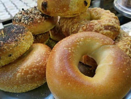 Bagels are baked fresh each morning at Circle City