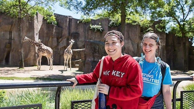 Covey offers opportunities for social interaction for people who have developmental disabilities, through fun activities like a trip to the zoo.