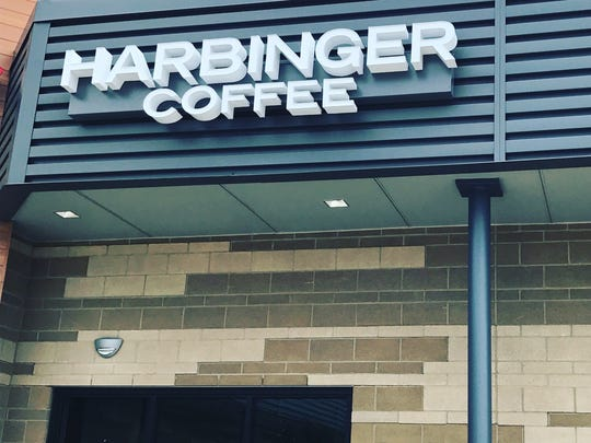 Harbinger Coffee opened a second location at 3581 E. Harmony Road in the Harmony Commons Development.