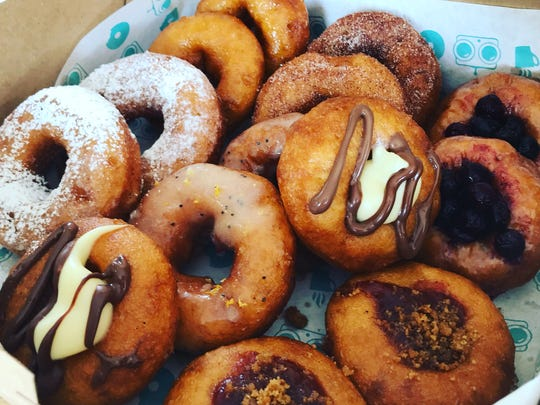 Specialty doughnuts from FoCo DoCo, the Fort Collins