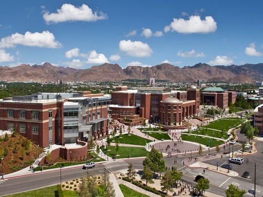 The northern part of the campus at the University of Nevada.