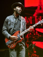 Gary Clark Jr. performs onstage as the opening act