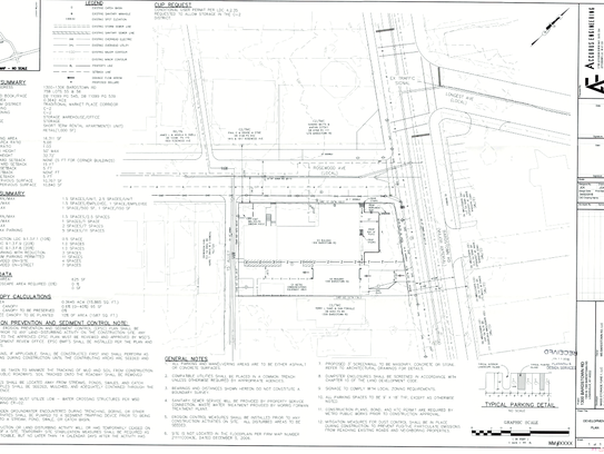 Submitted plans for the new mixed-use development at