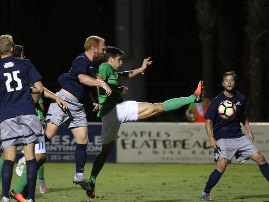 Action from Tuesday night's Atlantic Sun Conference match between No. 11 FGCU and North Florida on at the FGCU Soccer Complex.
