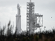 SpaceX's Falcon Heavy rocket sits on pad 39A at Kennedy