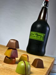 Norman Love chocolates and Fort Myers Brewing Company's
