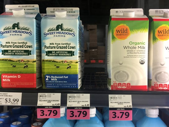 The oversupply of organic milk did have a silver lining for other dairy products: organic ice cream sales were up and organic cheese sales rose.