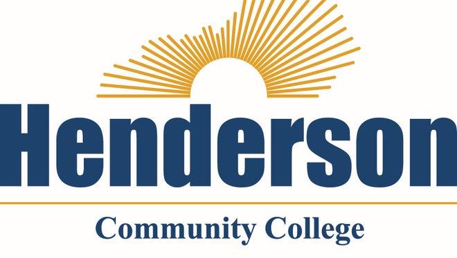 Henderson Community College logo.