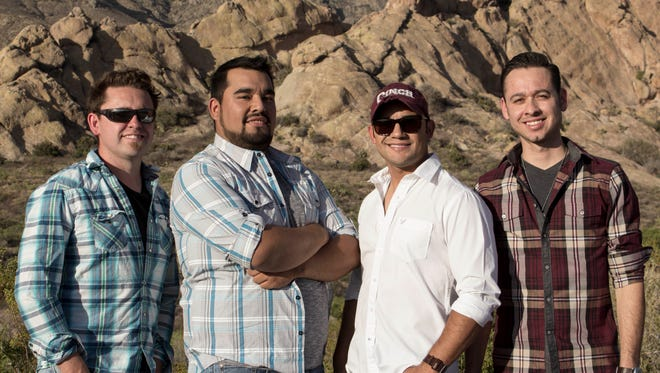 For the second year in a row Border Avenue will headline the Bataan Elementary School Celebration of Life Concert on Tuesday, June 7, at the Deming High School Memorial Stadium. The band members are, from left, Jonathan Maynes, Chris Nunez, Frank Gomez and Sam Campos.