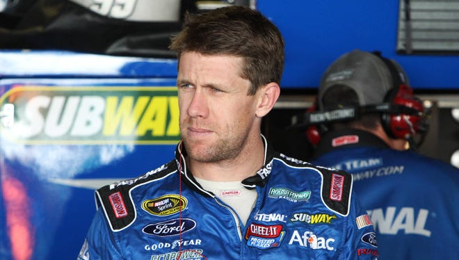 Carl Edwards is the lone driver from Roush Fenway Racing remaining in the Chase.