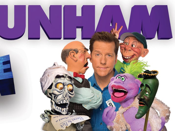 Enter for a chance to win 2 suite tickets to see famous comedian Jeff Dunham at the Resch.
