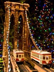 New York Botanical Garden's annual Holiday Train Show