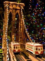 New York Botanical Garden's annual Holiday Train Show