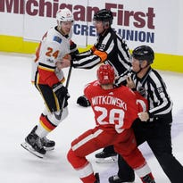 Wings' Witkowski, Blashill agree: Punishment didn't fit the crime