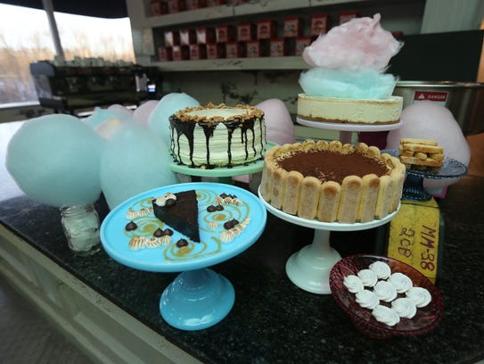 The desserts by Pastry Chef Jessica Thomas, at Centrale