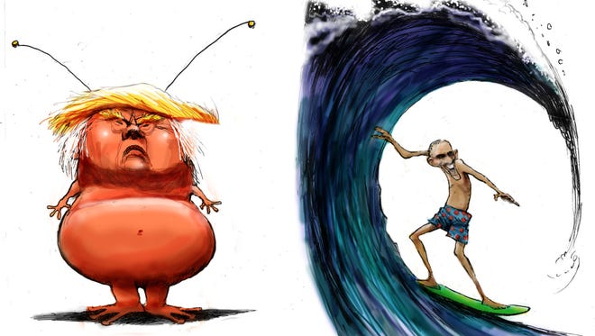 Trump is from Mars, Obama is from Hawaii.