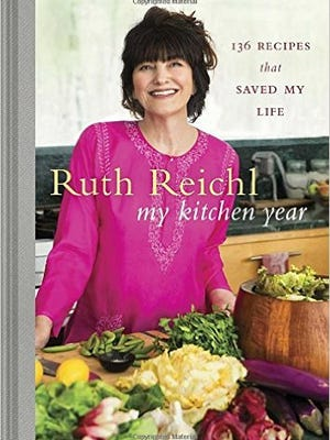 """Ruth Reichl's 2015 cookbook, """"My Kitchen Year: 136 Recipes That Saved My Life,"""" is available from Random House."""