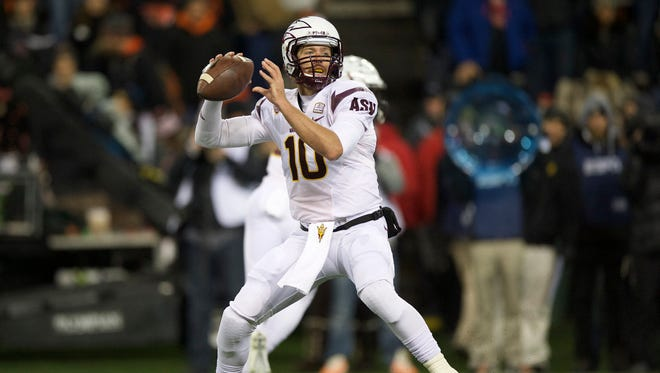 As Taylor Kelly prepares for his final regular-season home game at Sun Devil Stadium, a different question has emerged: Should the senior quarterback even be starting?