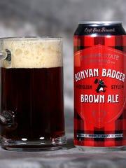 Badger State Brewing's Bunyan Badger Brown Ale