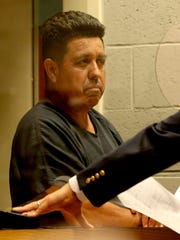 Mauricio Aguilera-Garcia, 55, is arraigned on 25 charges,