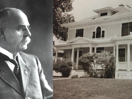 A. A. Edwards built the stately Edwards House on W.