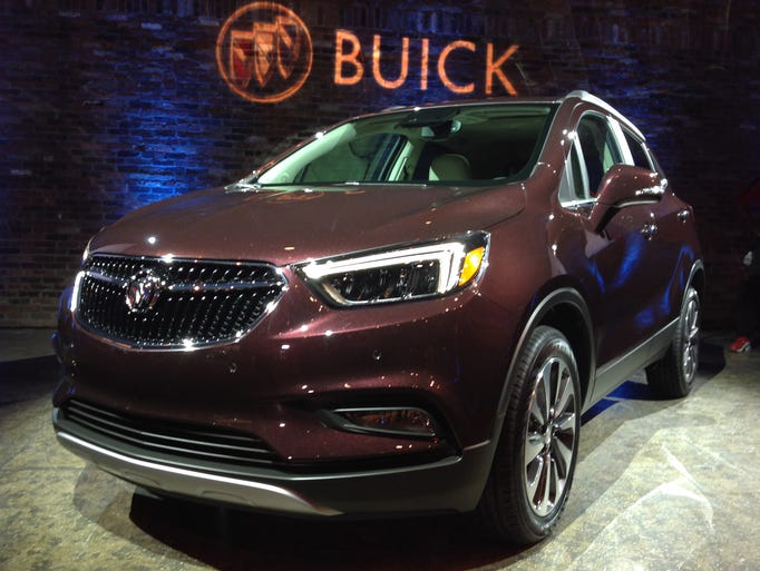 The 2017 Buick Encore is unveiled Tuesday, March 22,