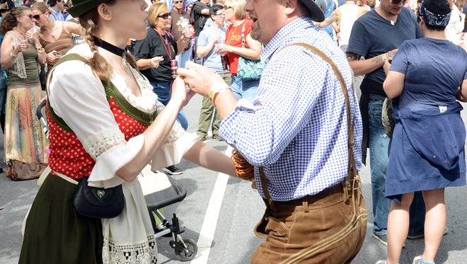 The Asheville Oktoberfest is Oct. 11 on Coxe Avenue. Tickets are $35 until Wednesday when the price goes to $40.
