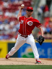 Cincinnati Reds starting pitcher Anthony DeSclafani