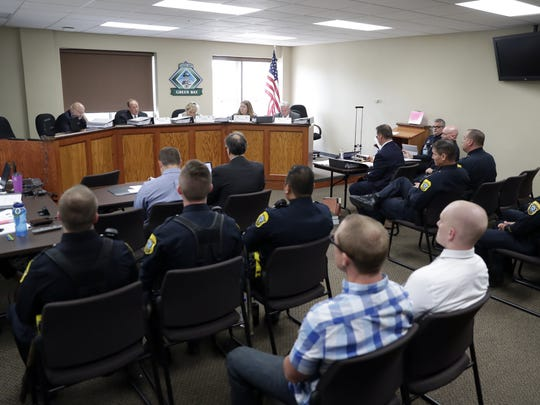 The Green Bay Police and Fire Commission is holding