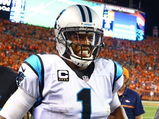 USP NFL: CAROLINA PANTHERS AT DENVER BRONCOS S FBN USA CO