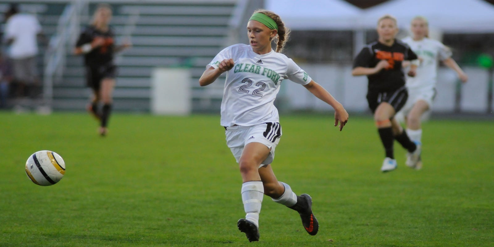 Weekly soccer statistics for Mansfield-area