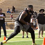 Measurements, numbers from Grambling State's Pro Day