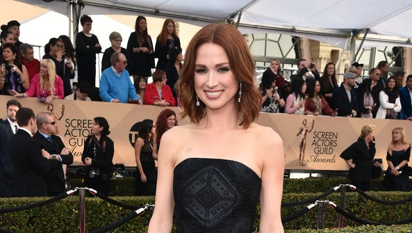 Ellie Kemper would like to thank the giant spider who